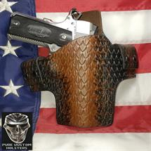 STI_holsters_5_1911_non_railed_Dragon_Skin_custom_Lt_Brown_to_Black_Marble_by_Pure_Kustom_001